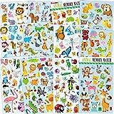 12 Blätter niedlichen Tier Aufkleber für Kinder, Lehrer, Eltern, Kinder Handwerk, Party Favors,...