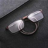 XYNH Lesebrille Damen 1.5,Nerd Blaulichtfilter Brille Herren,Einstellbare,Platz Magnet...