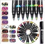 Biutee Model 16 Farben Nail Art Stift Malerei Design 3D Nail Art Dekoration Malerei Werkzeug...