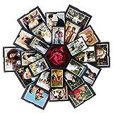 VEESUN Explosionsbox Geschenkbox mit 6 Gesichtern, Kreative berraschung Box DIY Fotoalbum, Jahrestag...