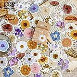 TTBH Blumen Gedichte Journal Dekorative Schreibwaren Aufkleber Scrapbooking DIY Tagebuch Album...