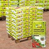 Kölle Bio Tomaten- und Gemüse-Erde torffrei, 120 Sack á 20 l, Palettenware ohne zusätzliche...