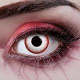 aricona Kontaktlinsen Farblinsen Zombie Kontaktlinsen für Halloween - Farbige Kontaktlinsen ohne...