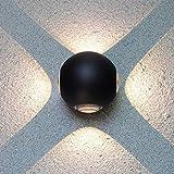 Moderne LED-Wand-Licht Kreative Black Wall Beleuchtung Wohnzimmer Esszimmer Schlafzimmer Kopf Halle...