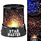 Sternprojektor Nachtlicht 360 rotierenromantische LED Sternenhimmel Nachthimmel Projektorlampe...