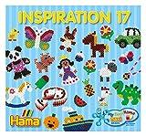 Hama Perlen 399-17 Heft Inspiration Nr. 17, für Bügelperlen Maxi, Mehrfarbig
