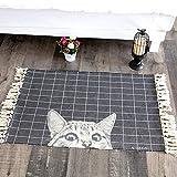 TIANLIYUN Innen und außen Nette Schwarze Und Weiße Katze Bett Decken, Schlafmatten, Schnitzeln...