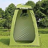 Roeam Camping Duschzelt,Pop Up Campingtoilette Toilettenzelt Umkleidezelt Outdoor Mobile Dusche Tent...