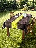 Dekoleidenschaft Tischdecke Outdoor 240 x 148 cm, schmutzabweisend, wasserabweisend, für Garten,...