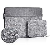 JSVER 13-13,3 Zoll Wasserabweisende Laptophlle Sleeve Aktentasche aus Filz fr MacBook Air...