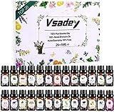 Ätherische Öle Set, 26 x 5ml Aromatherapie Duftöl Geschenkset,100% Reine Essential Oils für...