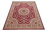Carpeto Klassischer Orientteppich & Perserteppich mit Orientalisch Ornamente Mandala Muster Kurzflor...