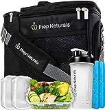 Meal Prep Isolierte Lunchtasche für Männer – Meal Prep Kühltasche mit Behältern – Isolierte...