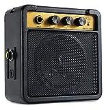 Rocktile GA-5 Jimi Mini-Gitarrenverstärker (5 Watt Batterieverstärker, mit Umhängegurt und...
