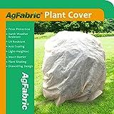 Agfabric Warme Warth Frostdecke – 0,95 oz Stoff von 213,4 x 182,9 cm Sträuchern, rechteckiger...