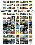 Landschaften Postkarten - 100 verschiedene Postkarten