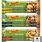 PowerBar Natural Protein - Veganer Protein Riegel - Mixbox (12 x 40g)