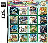 Yaogroo 208 Spiele in 1 NDS Game Pack-Karte Super Combo Multi-Cartridge für DS NDS NDSL NDSi 3DS...