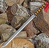 Evil Wear Machete XXL Messer Outdoor Combat Knife Ninja-Schwert Silber 70cm
