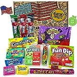 Heavenly Sweets Amerikanische Vegane Süßigkeiten-Geschenkbox - Auswahl an süßen Leckereien &...