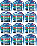 EXPO Low-Odor Dry Erase Markers, Chisel Tip, Assorted Colors, 4-Count