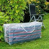 Tragetasche für Sesselauflagen mit Reißverschluß und Griff, 125x50 cm