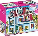 PLAYMOBIL Dollhouse 70205 Mein Groes Puppenhaus, Mit funktionsfhiger Trklingel, Ab 4 Jahren