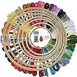 HAUSPROFI Stickerei Set Stickerei Starter kit Stickerei Kreuzstich set Kreuzstich Tool Kit...