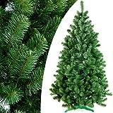 DecoKing 52525 220 cm Künstlicher Weihnachtsbaum grün Tanne Lena Weihnachtsdeko