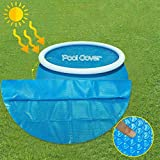 XXVH Schwimmbad Pool Solarabdeckplane, Schnellere Wassererwärmung & Geringere Wasserverdunstung,...