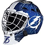 Franklin Sports NHL Tampa Bay Lightning Hockey Torwart Gesichtsmaske – Torwart Maske für Kinder...