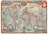Educa 14827 - Puzzle - Historische Weltkarte, 4000-Teilig