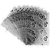Windrad-Klebefolien | DIN A4 | 300µ, einseitig klebend | transparent | 10 Stück