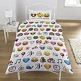 Emoji Multi Emojis Bettbezug-Set, Einzelbett
