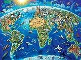 Ravensburger - Puzzle Weltkarte 300 Teile XXL 13227