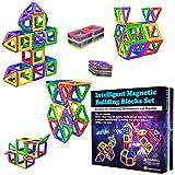 Desire Deluxe Magnetische Bausteine Magnet Montessori Spielzeug für Kinder 40PC Set Teilen ab 3 4 5...
