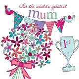 "Moderne Muttertagskarte ""Mum"" – 160 mm quadratisch – Piccadilly Greetings"