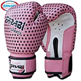 Farabi 4-Oz Kids Boxing Sparring Punching Bag Training Gloves Junior Pink