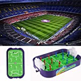 THMY Mini Football Tabletop Arcade-Spiel/Finger Battle Athletic Soccer-Spiel Power Shot Football...