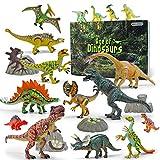 GizmoVine Dinosaurier Spielzeug 20 Stücke 13-23cm Beweglich Dinosaurier Einschließlich...