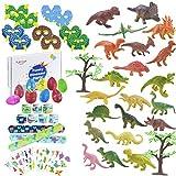 FORMIZON 102 STK. Dinosaurier Party Mitgebsel, Dinosaurier Spielzeug Dinosaurier Schnapparmband...