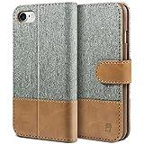 BEZ Hlle fr iPhone 8 Hlle, iPhone 7 Hlle, Handyhlle Kompatibel fr iPhone 7 Hlle Klappbar,...