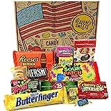 Heavenly Sweets Amerikanische Süßigkeiten & Schokolade Geschenkbox - Klassische USA-Marken-Box...