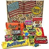 Kleiner Amerikanische Sigkeiten Geschenkkorb von Heavenly Sweets | Sigkeiten aus den USA | Auswahl...