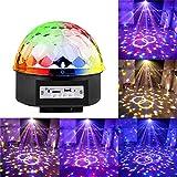 AKENYNY Bluetooth-LED Bunte Lichter, Mini-drehende Projektions-Lampe, für Haus, Hochzeit, Party,...