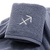 WAQJKL EIN Paar Handtücher, EIN Paar saugfähige Baumwoll- und schnell trocknende Handtücher,...