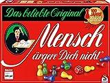 Schmidt Spiele 49020 Mensch ärgere Dich Nicht Jubiläumsausgabe, mit Figuren und Würfeln aus Holz,...