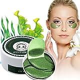 Eye Mask, Augenpads, Anti Aging Pads, Collagen Maske, Augenpflege mit Hyaluron, Feuchtigkeit...