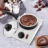 YXZN Chocolate Pot Melting Machine Schokobrunnen Schokofondue Set Non-Stick Elektrische...
