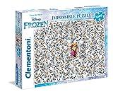 Clementoni 39360 39360-Puzzle-Impossible-Disney Frozen (Die Eiskönigin), 1000 Teile